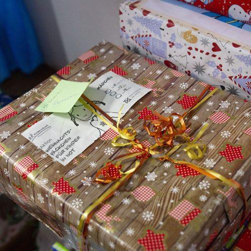Weihnachtspäckchenaktion 2018 - Geschenkausgabe - Ukraine
